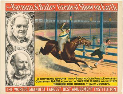 Barnum and Bailey Circus Horse