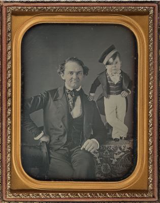 PT Barnum and Tom Thumb