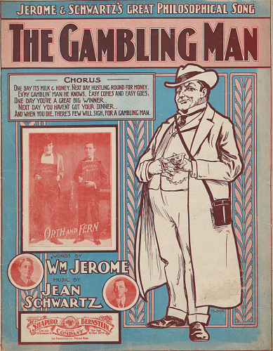the-gambling-man-sheet-music