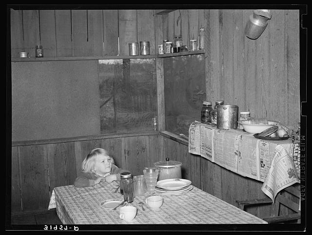 Sharecropper kitchen