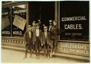Telegraph messengers