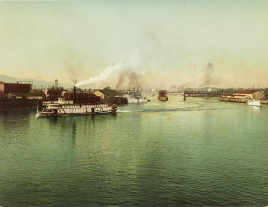 Wilamette River_portland
