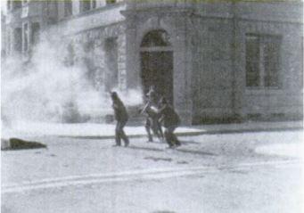 Capture of the Yegg Bank Burglars