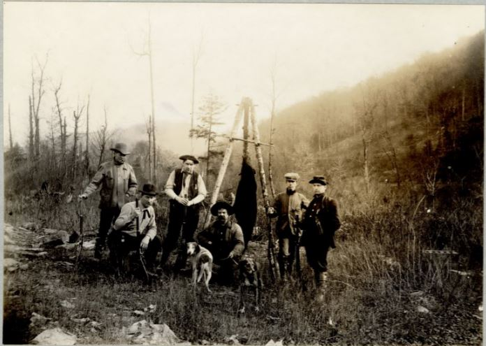 A Hunting Party and their Bear