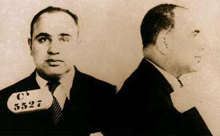 ESP Capone Mug Shot