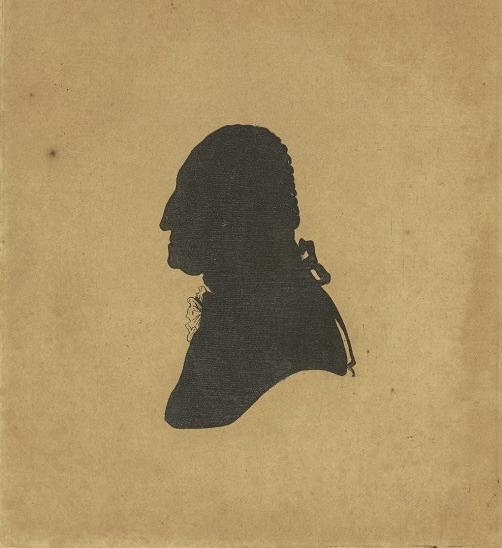 george washington silhouette