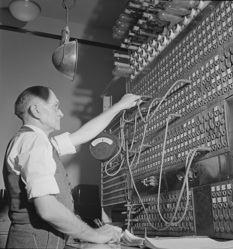 Telegraph Switchboard