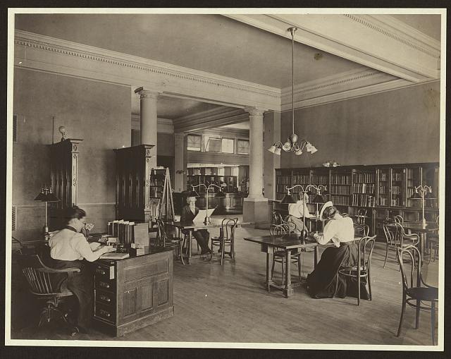 Carnegie lib reading room