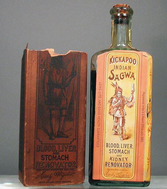 Kickapoo Indian Sagwa