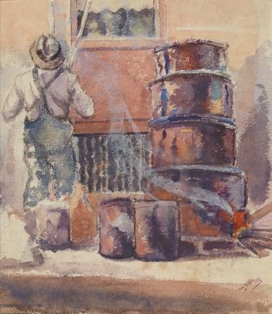 Dox Thrash oil barrel